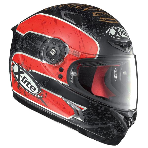 Helmet Full-face X-Lite X802R Replica Camier flat black