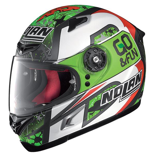 Nolan X802R Replica Bastianini full face helmet