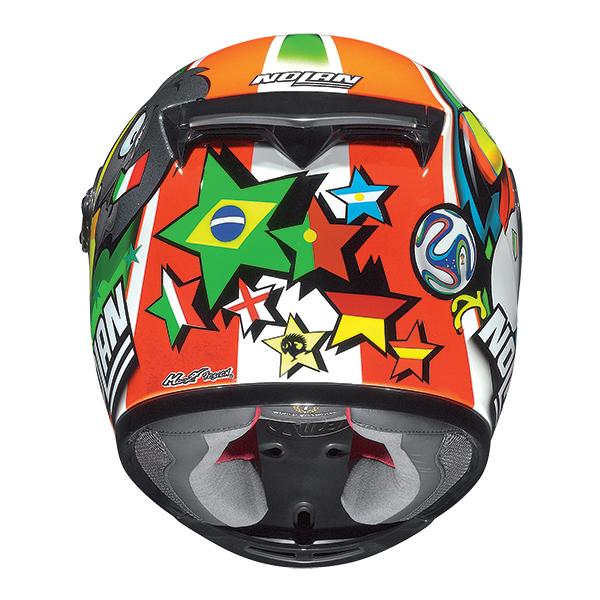 Nolan X802R Replica Melandri Misano full face helmet