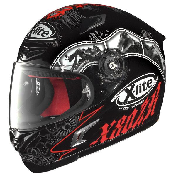 Helmet Full-face X-Lite X802R Snapshot black-red