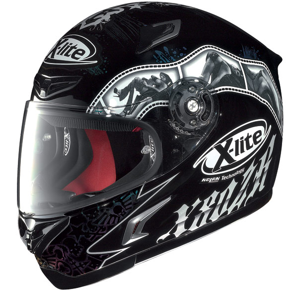 Helmet Full-face X-Lite X802R Snapshot black-white