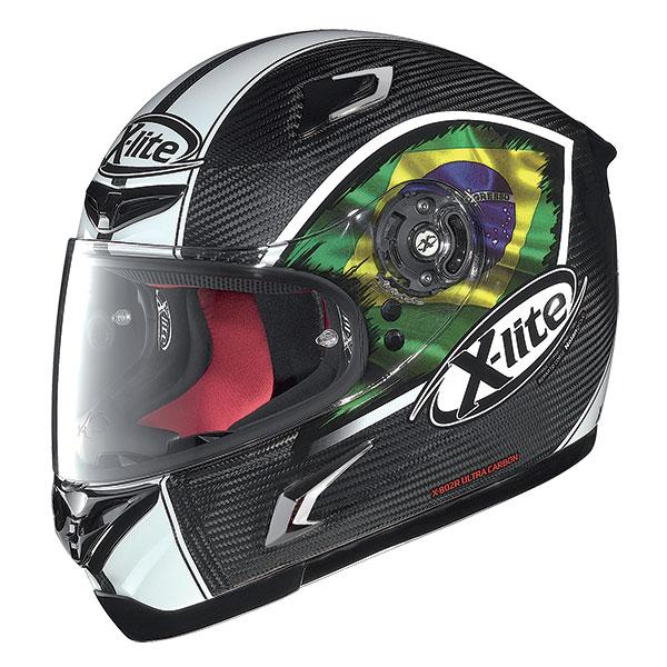 X-Lite X-802R Stareus full face helmet Carbon Brasil