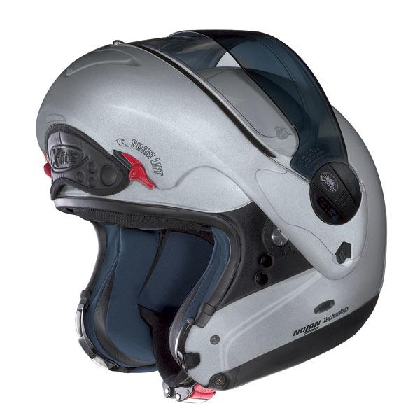 Casco moto X-Lite X-1002 N-COM Elegance bianco