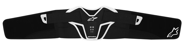 Alpinestars Saturn Youth kidney belt black white