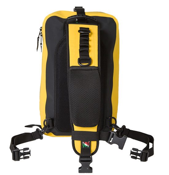 Amphibious Waterproof Backpack Shoulder One Yellow
