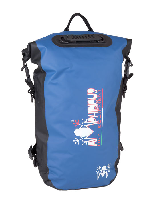 Kikker Amphibious Waterproof Backpack Blue