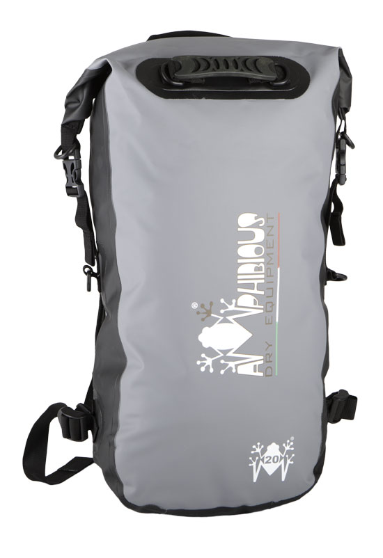 Kikker Amphibious Waterproof Backpack Grey