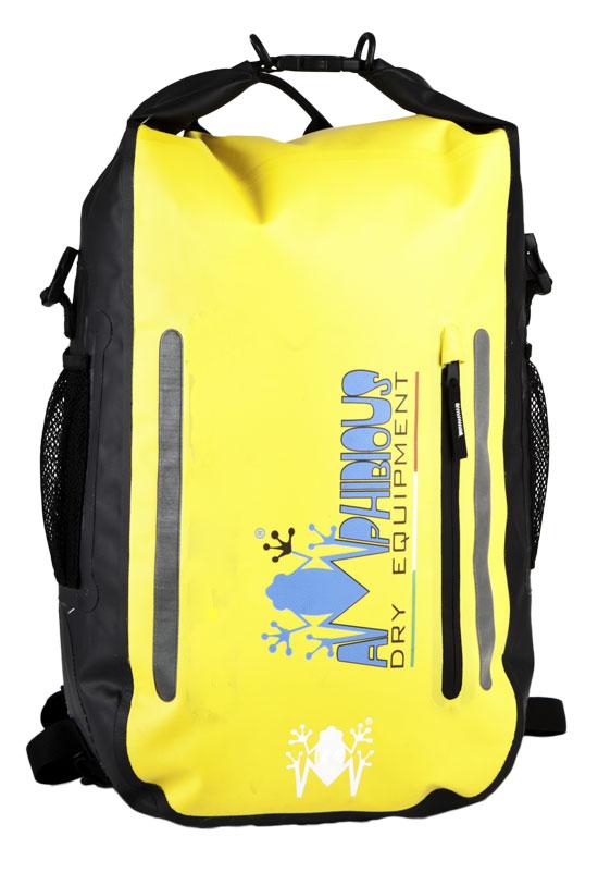 Amphibious Waterproof Backpack Black Atom