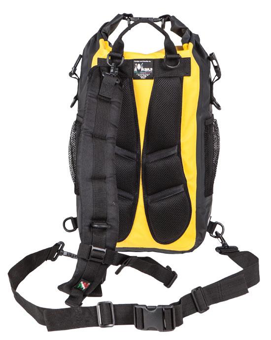 Amphibious Waterproof Backpack Red Atom