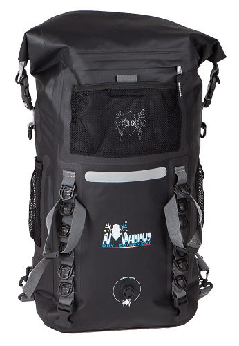 Amphibious Waterproof Backpack Discovery 45 Black