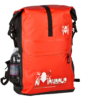 Overland 30 Amphibious Waterproof Backpack Red