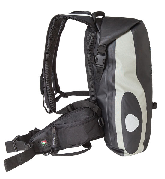 Amphibious Waterproof Backpack Grey Raptor