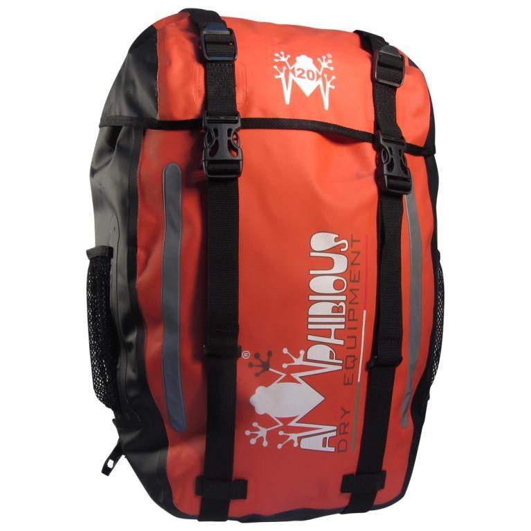 Zaino impermeabile Amphibious Onix Rosso