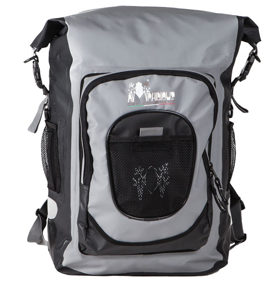 Apex Amphibious Waterproof Backpack Black