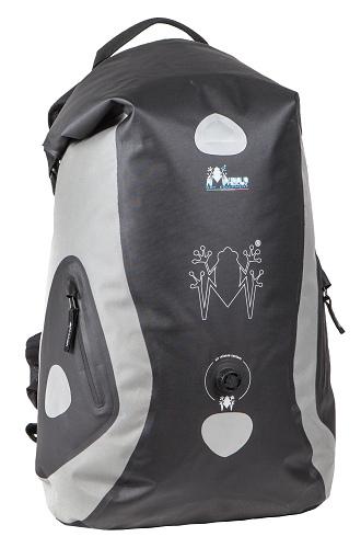 Amphibious Waterproof Backpack Stealth Grey
