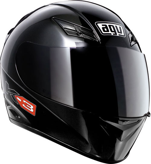 Agv K-3 Mono black full face helmet