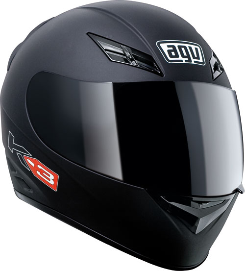 Agv K-3 Mono matt black full face helmet