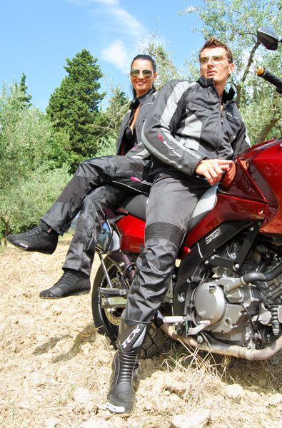 Giubbotto moto Rigel Tex Befast