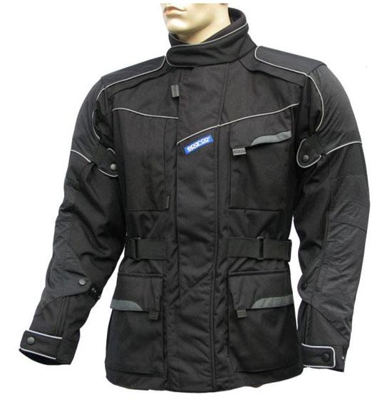Giacca moto Sparco Hi-Tech nera