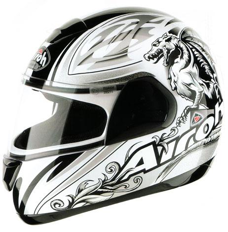Casco moto Airoh Speed Fire Grifo