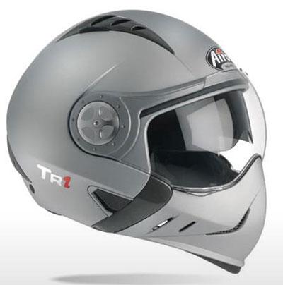 Airoh TR1 Color silver open-face helmet