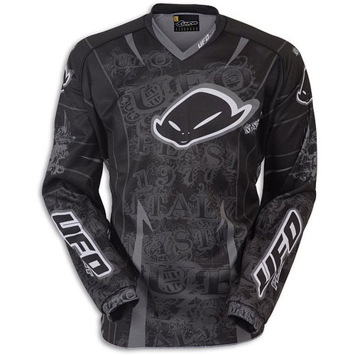 UFO Black Dream Made in Italy MX Jersey