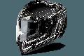 Casco integrale Airoh St 701 Pinlock incluso Safety full carbon bianco lucido in carbonio