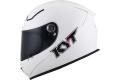 Casco integrale KYT KR-1 Plain in fibra bianco