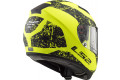 Casco integrale LS2 FF397 VECTOR FT2 SIGN in fibra Giallo opaco Nero
