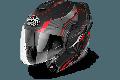Casco modulare Airoh Rev Revolution nero opaco mentoniera staccabile