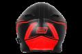 Casco moto modulare Origine Delta Motion nero rosso opaco