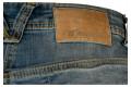 Jeans moto donna Motto STELLA con rinforzi in Kevlar blu