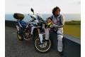 Giacca moto touring Befast TOURING TECH CE certificata 3 strati Nero Grigio