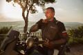 Giacca moto touring Befast VICTORY CE 3 strati Nero Grigio