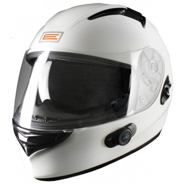 Casco integrale Origine Vento 2 con interfono Blinc G2 Bianco
