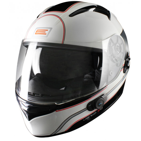 Casco integrale Origine Vento 2 Odessa con interfono Blinc G2