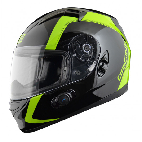 Casco integrale Origine Vento 2 Spline con interfono Blinc G2 Ve