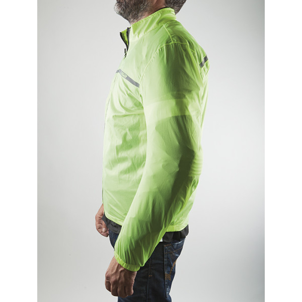 Giacca impermeabile LS2 Proof Giallo fluo