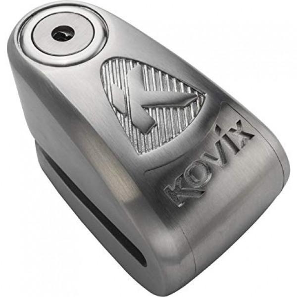 Bloccadisco con allarme Kovix Kaz10 in acciaio inox perno 10mm