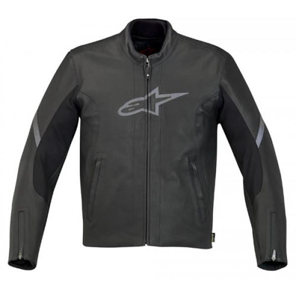 online retailer 5af19 2d6b3 Giacca moto in pelle Alpinestars 365 Gore-Tex nera