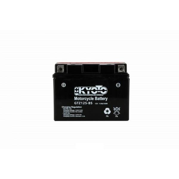 Batteria moto Kyoto Ytz12s-bs X4 - 12v 11ah - L 150mm W 87mm H 110mm - con acido senza manutenzione