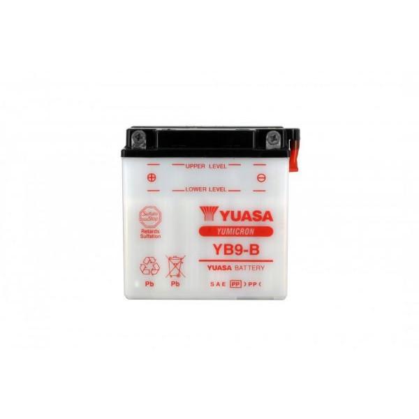 Batteria moto Yuasa Yb9-b X5- 12v 9ah - L 137mm W 76mm H 140mm