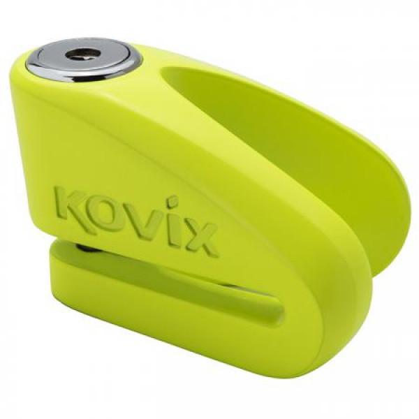 Bloccadisco Kovix in lega di zinco perno 10mm Verde Fluo
