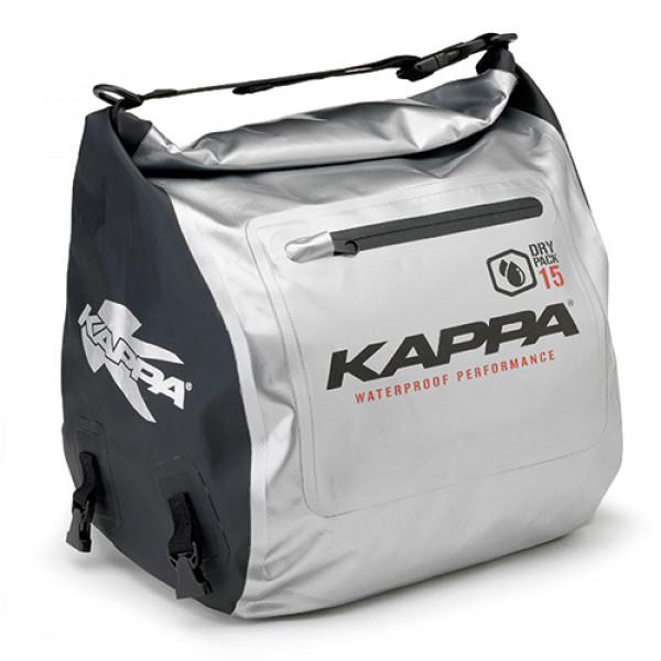 Borsa da tunnel Kappa WA407S 15litri argento