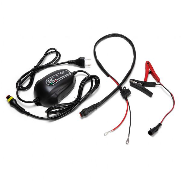 Caricabatterie e mantenitore Motoabbigliamento BC Easy 4 12Volt 0,9 AMP