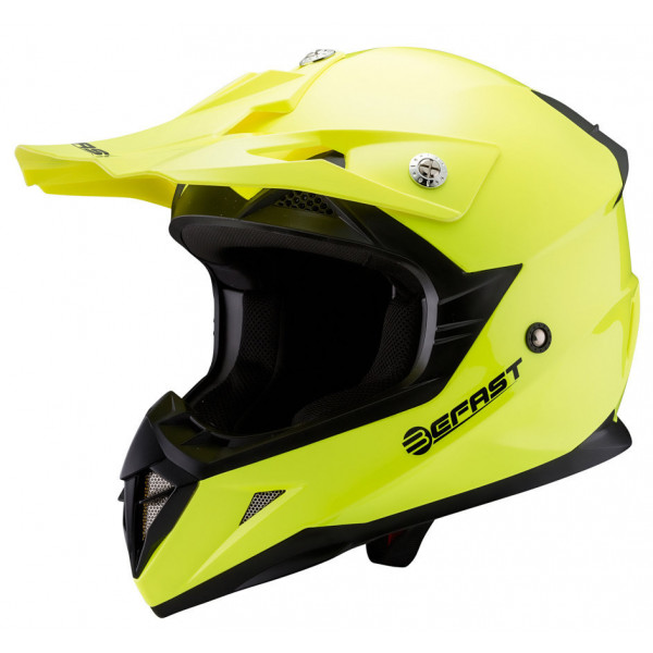 Casco cross Befast Dust Giallo fluo