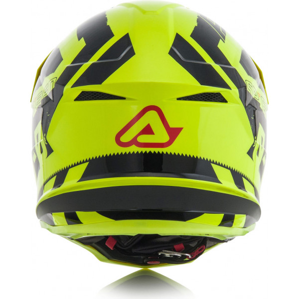 Casco cross Acerbis Profile 4 Giallo fluo Nero