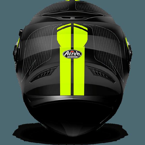 Casco integrale Airoh Movement S Pinlock incluso Faster giallo opaco