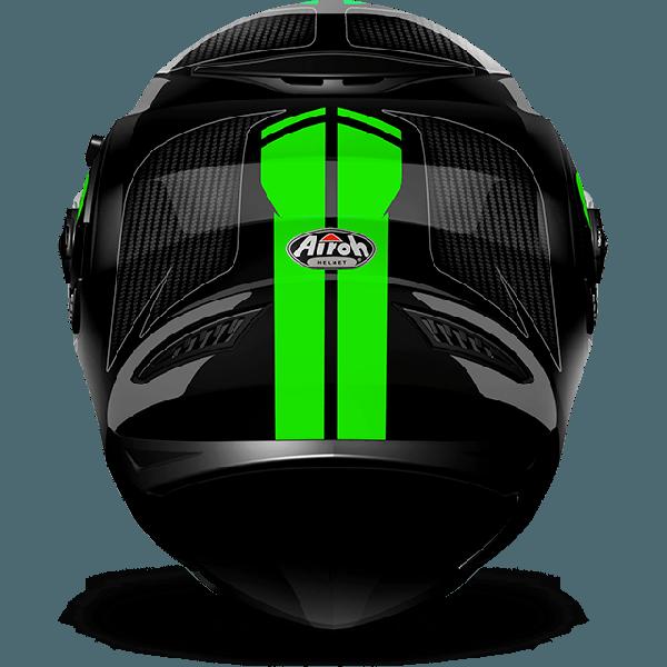 Casco integrale Airoh Movement S Pinlock incluso Faster verde lucido