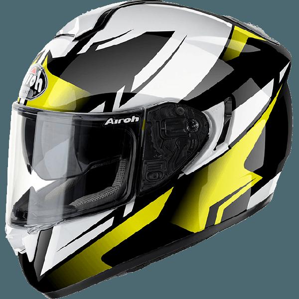 Casco integrale Airoh ST701 Spark giallo lucido